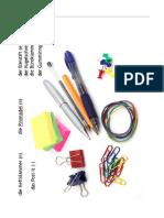 VK Possessivartikel Büromaterial