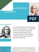 Operele lui Dimitrie Cantemir.pptx