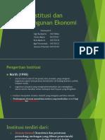 Institusi Dan Pembangunan Ekonomi-1
