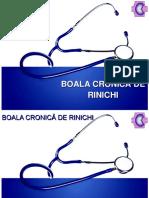 BoalaCronica de Rinichi