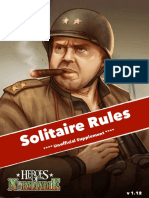 Heroes over Normandy - Solos Rules