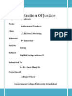 Administration Of Justice.docx