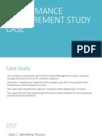 Performance Measurement Study Case