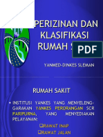 Perizinan Klasifikasi Rs 2003