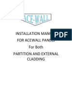 Acewall Installation f