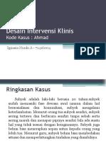 Desain Intervensi Klinis Ppt