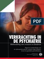 Verkrachting in de Psychiatrie