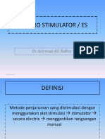 6. Elektro Stimulator