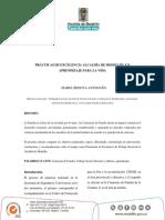 Artículo Prácticas de Excelencia Alcaldía de Medellín%2c Un Aprendizaje Para La Vida- Isabel Bedoya Avendaño