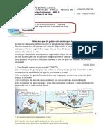 Avaliação de Portugês - III Módulo.doc