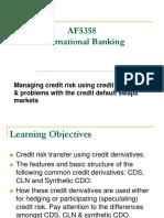 Credit Risk - Credit Derivatives(1)