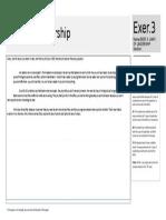 VE013 Work Sheets