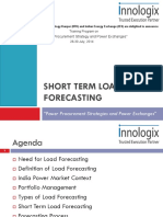 1 - Short Term Load Forecasting - Mr. Atul Agarwal