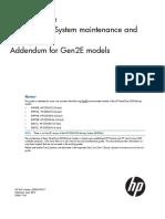 D2D Backup System Maintenance and Service Guide for Gen2E Models