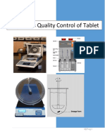 IPQC Test of Tablets