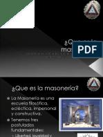 Que Es La Masonería