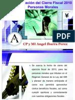 Preparacion Del Cierre Fiscal 2010