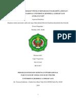 Pengaruh Dosen Terhadap Tingkat Kepahaman Mahasiswa Ilmu Hubungan Internasional Universitas Jenderal Achmad Yani Angkatan 2017