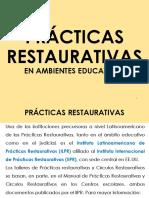 I Formación Prácticas Restaurativas