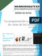 La programación y el diseño de rutas de los vehiculos.pptx