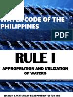 Water Code of Ph Final
