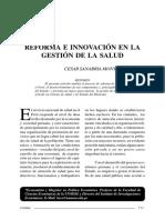 Innovacion Sist Salud