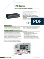 UPort 1600-16 Series