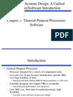 Ch3_102802 General-Purpose Processors Software