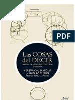 Las Cosas Del Decir_ Manual de Análisis Del Discurso. 3a Edición