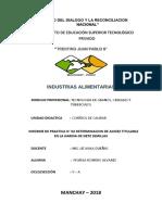 Detrminacion de Acidez en Harina de Siete Semillas PDF