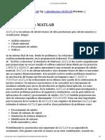 1.1 Descripción de MATLAB