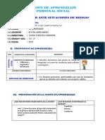 SESIÓN 10 P.S. ¿QUE HACER ANTE SITUACION DE RIESGO.docx