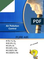 Air Pollution Control.. 1