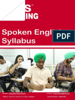 English Speaking Syllabus