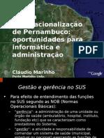A nova internacionalização de Pernambuco