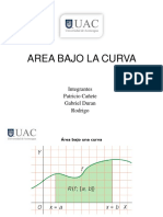 Area Bajo La Curva
