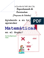 Math Brochure Spanish