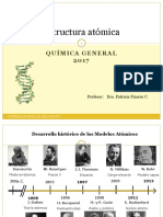 Clase N°3  Estructura atómica