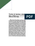 [Texto 10] Teorias Do Fascismo Alemão