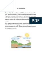 The Process of Rain.docx
