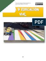 TEMA 9 EDUCACIÓN VIAL