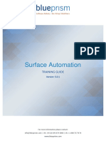 Surface Automation - Training Course 5.0.1