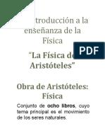 Fìsica de Aritòteles Carlos j