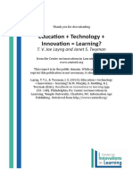 Education Technology Innovation Learning SA