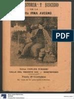 Irma Avegno - Vida, Historia y Suicidio