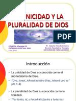1 La unidad y la pluralidad de Dios.ppt