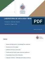 Ayudantía N°1 - Geología y Mineralogía
