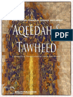 What Shaykh Hamad Al-Ansaari Said About Aqeedah and Tawheed