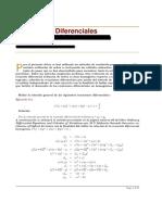 Ecuaciones Diferenciales y Series