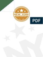 New York Menu